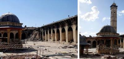 mezquita destruida