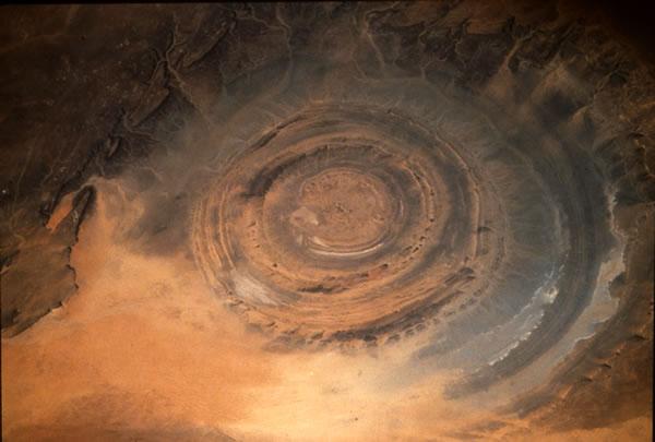 crater ouadane