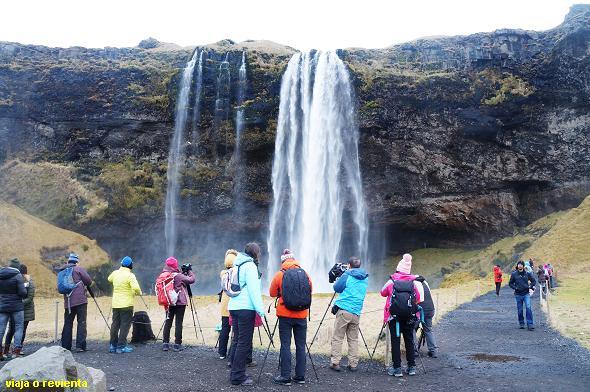 turistas islandia