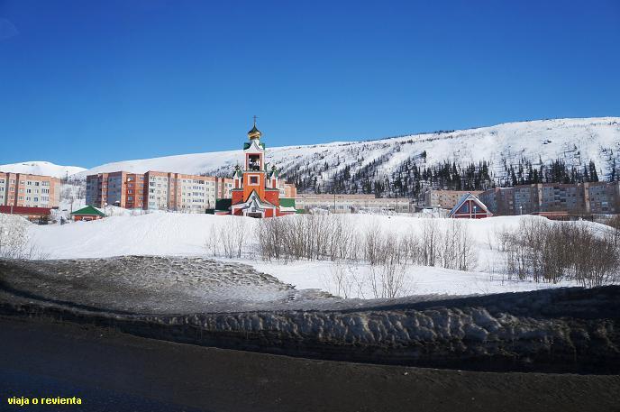 iglesia kirovsk