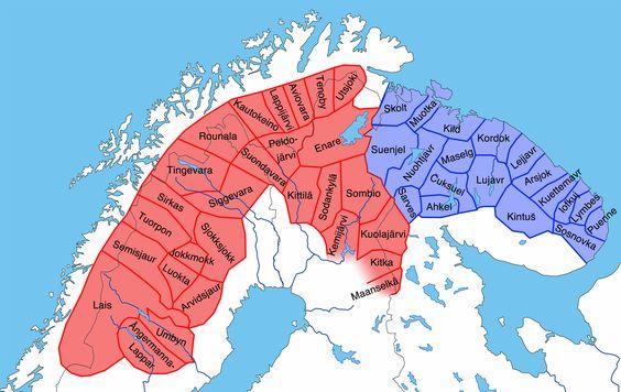 mapa comuniidad sami