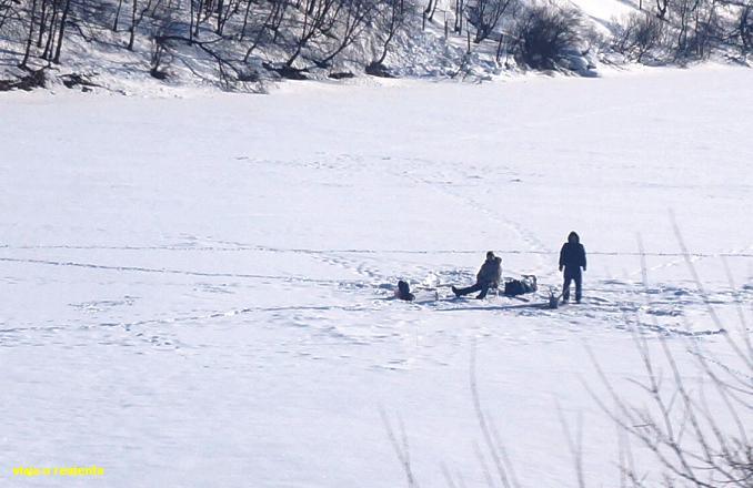 pesca hielo