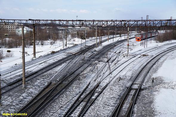 murmansk train