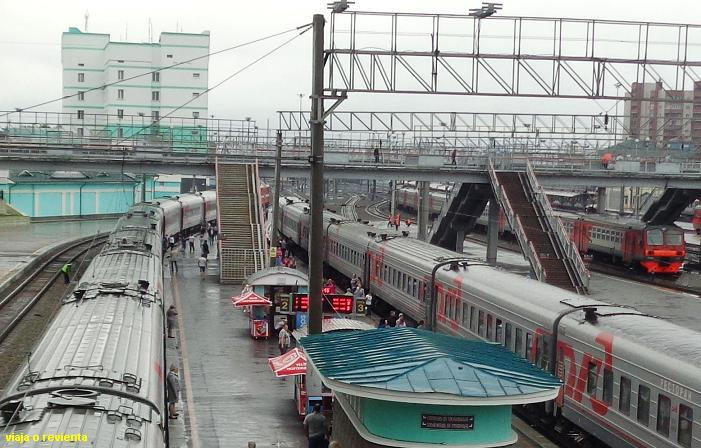 novorsibirsk tren