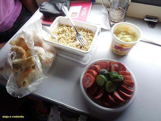comida transiberiano